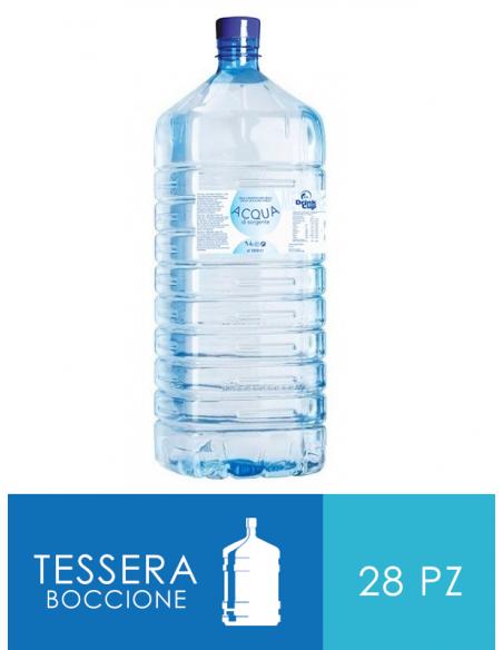 TESSERA DA 28 BOCCIONI GOLA DEL FURLO 18 litri